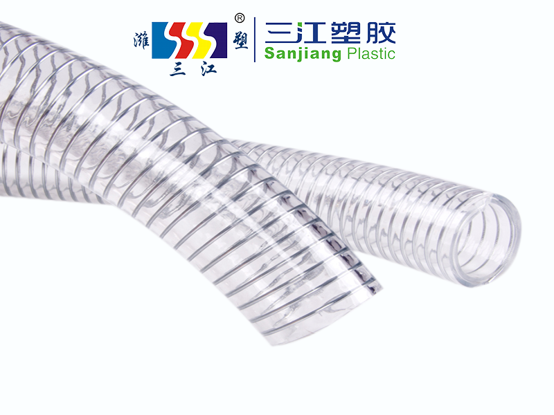 HIGH TEMPERATURE RESISTANT PVC STEEL WIRE HOSE
